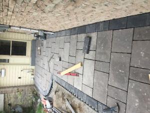 Interlock walkways and patios