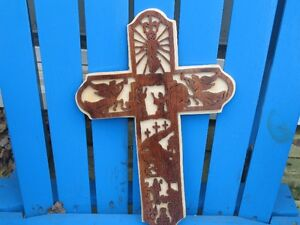 Biblecale Scolled Crosses