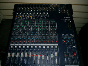 *MINT* Yamaha MG166c 16-Channel Mixer with Compression