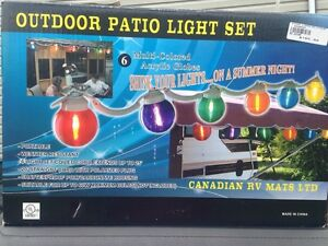 Outdoor patio Light set for RV