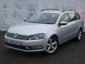 2011 VOLKSWAGEN PASSAT 1.6 SE TDI BLUEMOTION TECHNOLOGY DIESEL ESTATE SERVICE HI