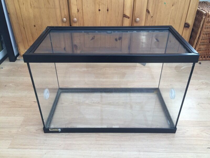 Pet Tank Vivarium Glass With Screen Top