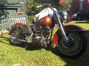 "1971 flh 74"" shovel head"