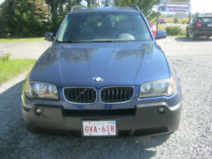 2004 BMW X3 Gray leather SUV, Crossover