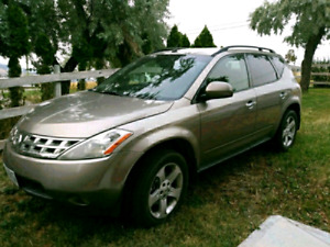 PRICED FOR QUICK SALE 2004 Nissan Murano Fully Loaded AWD SUV