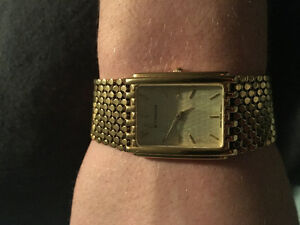Gold plated wittnauer watch want gone asap