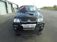 MITSUBISHI L200 ANIMAL 4X4 DIESEL MANUAL DOUBLE CAB 129000 MILES LEATHER