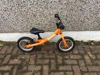 Kids Scoot Balance Bike - Orange