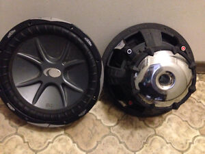 Two Kicker Comp CVX06 (never used)
