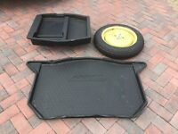 HONDA JAZZ SPACESAVER SPARE WHEEL AND BOOT LINER