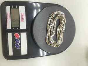 Massive White Gold Franco Chains 67g for Sale Ballers Only