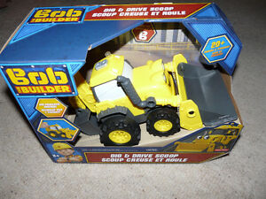 Brand New Fisher-Price Bob the Builder Dig & Drive Scoop Toy