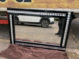 Bling wall mirror £40