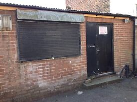 Office/storage unit in Leigh Lancashire