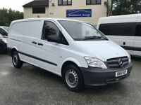 Mercedes-Benz Vito 2.1 Long 113CDI. 2 Owners. Cheap Van, Ready To Work.