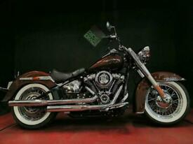 HARLEY-DAVIDSON FLDE SOFTAIL DELUXE 2020. SERVICED. 1206 MILES. VH PIPES.