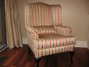 Wing back chair Kitchener / Waterloo Kitchener Area image 1