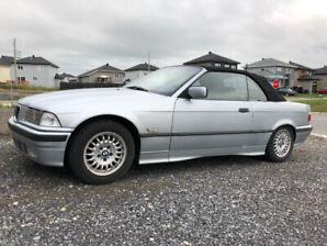 Bmw 1994 318i Convertible, 74xxxkm, Silver, E36, Automatic
