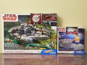 Star  Wars Millennium Falcon Sets Hot Wheels BRAND NEW