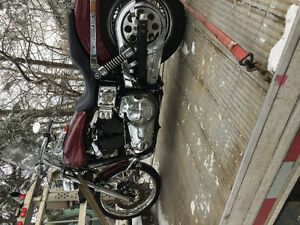 Harley up for trade looking for tractor livestock or anything