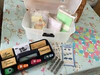 Card making (stamps/cutters) bundle