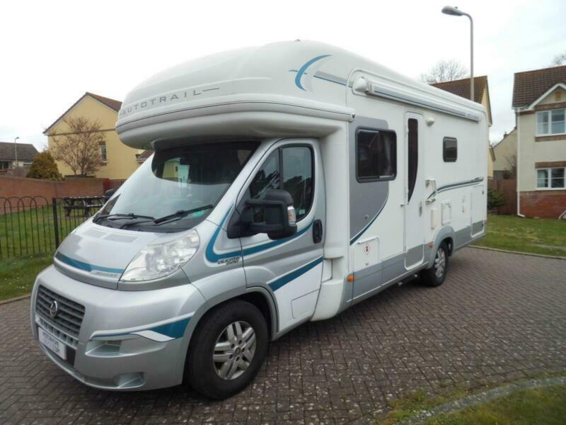 Motorhome With Garage For Sale