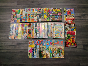 Silver age Comic book collection for sale