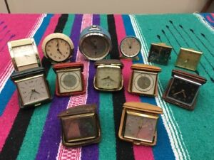 Miniature Vintage Alarm Clocks
