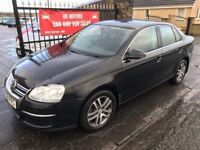 2008 VW JETTA 2.0 TDI SE, 1 YEAR MOT, SERVICE HISTORY, WARRANTY, NOT BRAVO GOLF ASTRA FOCUS