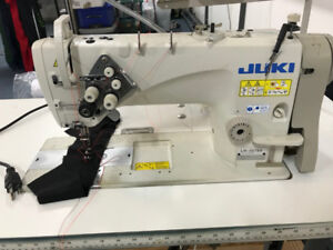 """double needle Juki  1/4""""  10 machines available for sale"""