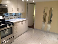Clean Renovated 2 BR Basement Apt. South Pickering close to GO