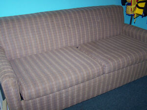 older pull out love seat
