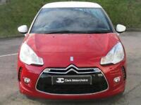 2015 DS Ds 3 1.2 PureTech DStyle Nav 3dr (start/stop) Petrol red Manual