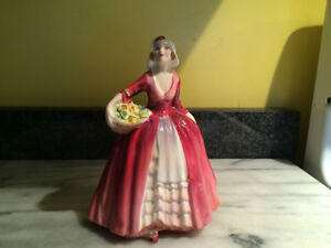 NEW PRICE     Royal Doulton Figurine ...Janet