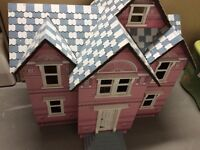 Melissa and Doug large wooden doll house
