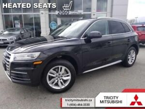 2018 Audi Q5 2.0 TFSI quattro Komfort  LEATHER-REAR CAM