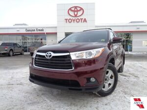 2015 Toyota Highlander XLE Edition AWD ONLY 34721KMS TOYOTA CERT