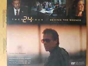 24: Behind the Scenes Paperback w/DVD
