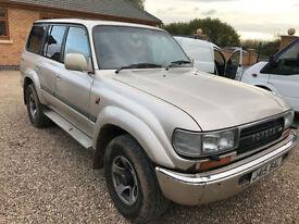 1991 j Toyota Land Cruiser 4.2TD auto VX tutbo diesel 80 series 30.7 mpg