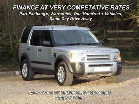 Land Rover Discovery 3 2.7TD V6 2006MY SE