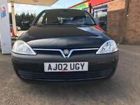 2002 Vauxhall/Opel Corsa 1.0i 12v SE Life - MOT:20 September 17- Cheap Insurance