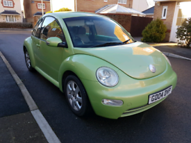 Vw beetle, long mot, fsi 2.0, tidy, economical on fuel £985 ono