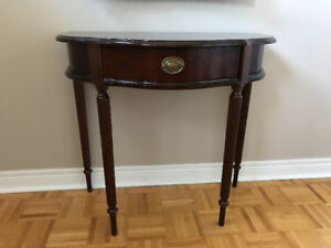 Bombay console table( excellent condition)