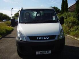 2012(61) IVECO DAILY 35S11 AUTOMATIC ALLOY PLATFORM TRUCK