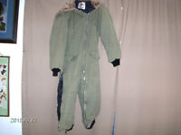 WORK HORSE ONE PIECE WINTER COAT-MEN'S-SIZE SMALL-CANADA