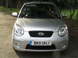 2011 Kia Picanto 1.0**1 LADY OWNER**ONLY 20,000 MILES**£30 TAX**KIA FSH**