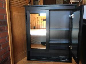 Mirrored Bathroom Cabinet - 2 doored