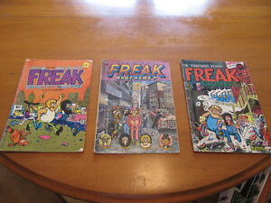 Fabulous Furry Freak Brothers Original Comics!