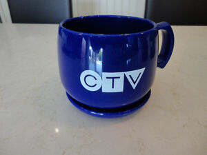 Vintage CTV Television Cup & Saucer -Made from Natural Corn USA Kitchener / Waterloo Kitchener Area image 8