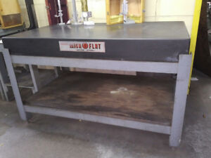 Collins Microflat Black Granite Inspection Table